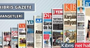 13 Temmuz 2019 Cumartesi Gazete Manşetleri