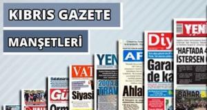 1 Kasım 2020 Pazar Gazete Manşetleri