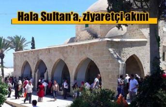 Hala Sultan, ziyaretçi akınına uğradı