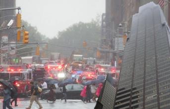 Manhattan'daki bir gökdelene helikopter çarptı