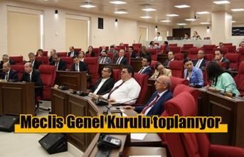 Meclis Genel Kurulu toplanıyor