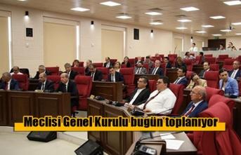 Meclisi Genel Kurulu bugün toplanıyor