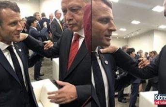 """""""Bak Macron, Kıbrıs meselesinde sen konuşamazsın"""""""