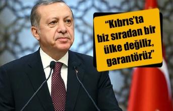 Erdoğan'dan Kıbrıs açıklaması!