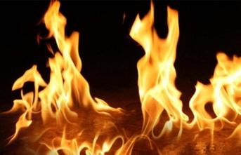 Aslanköy Ve Güzelyurt'ta Elektrik Tellerinden Yangın Çıktı