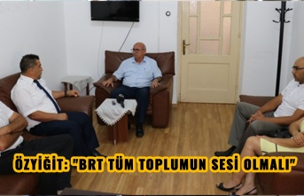 "ÖZYİĞİT: ""BRT TÜM TOPLUMUN SESİ OLMALI"""