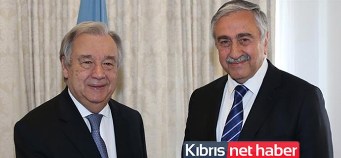 Akıncı, Guterres ile görüşecek