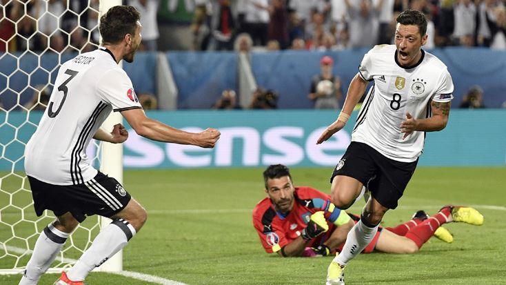 Almanya, EURO 2016'da yarı finalde!