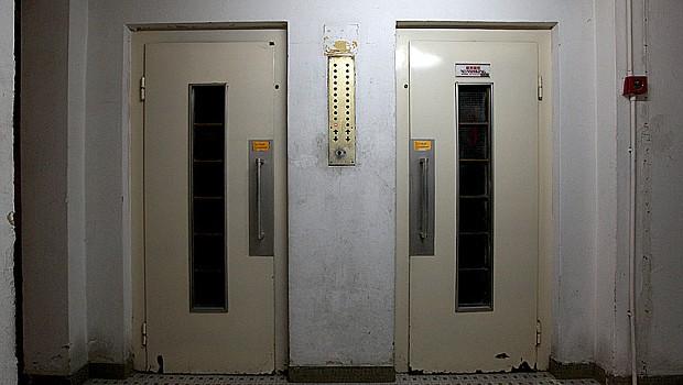 Asansörde ceset bulundu!