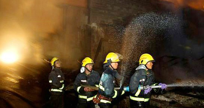Çin'de bir barda yangın: 18 ölü, 5 yaralı