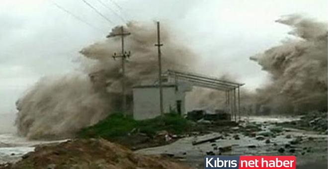 Çin'de Hato tayfunu alarmı