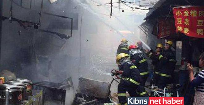 Çin'de patlama meydana geldi!