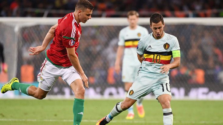 Eden Hazard coştu!.. Belçika çeyrek finale uçtu!