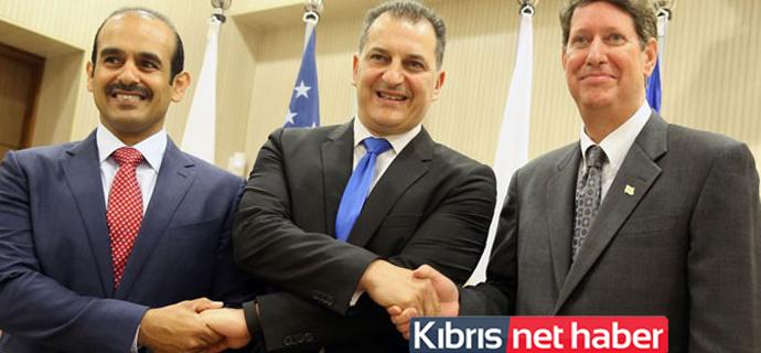 """""""Exxon Mobil-Qatar Petroleum"""" ile imzalar atıldı"""