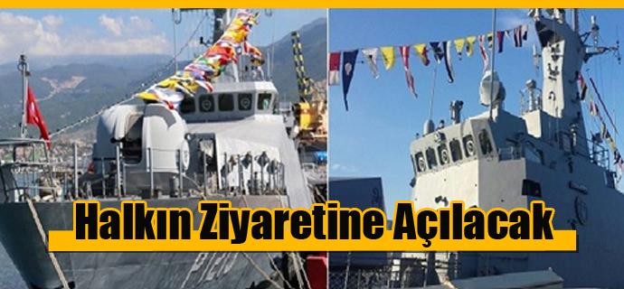 Gemiler Halkın Ziyaretine Açılacak
