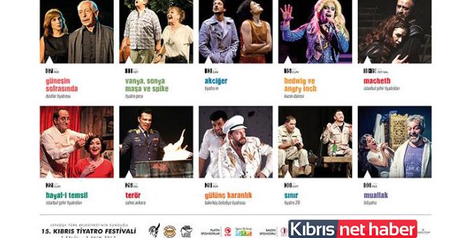 Tiyatro Festivali  başlıyor