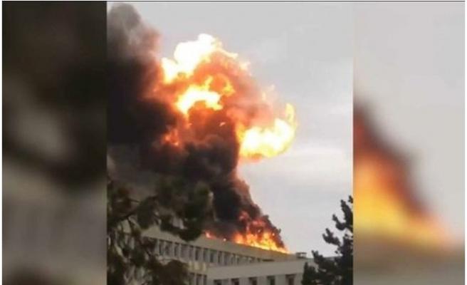 Fransa'da patlama meydana geldi!