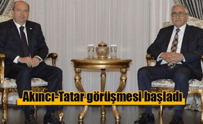 Akıncı-Tatar görüşmesi başladı