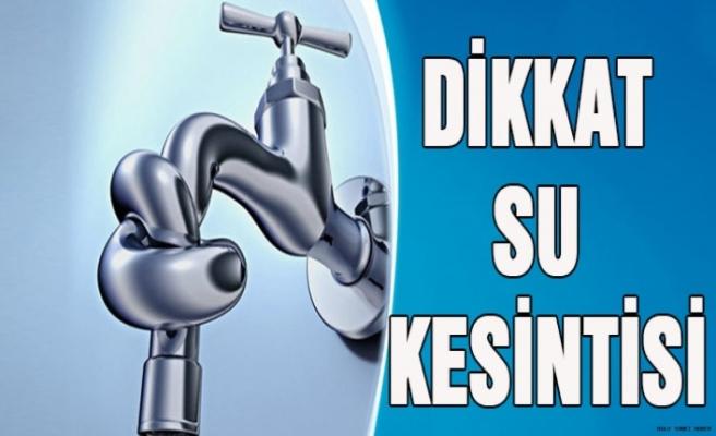 Dipkarpaz bölgesine 3 gün su verilemeyecek