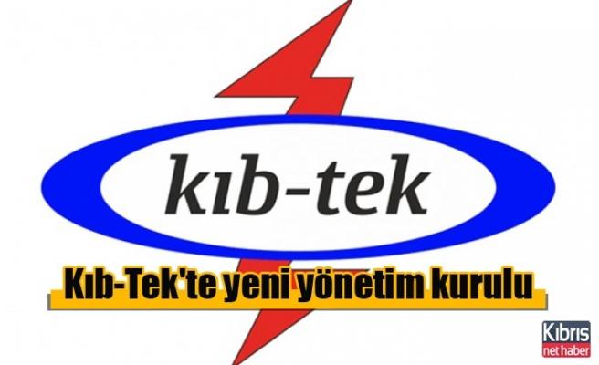 Kıb-Tek'te yeni yönetim kurulu belirlendi
