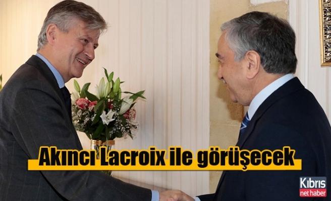 Akıncı Lacroix ile görüşecek