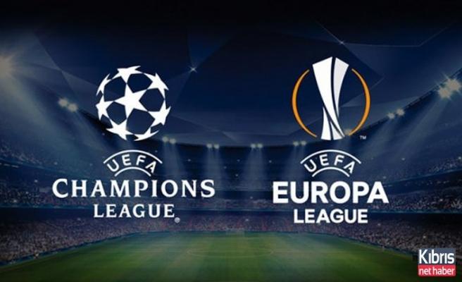 Avrupa kupalarında rakiplerimiz belli oluyor!