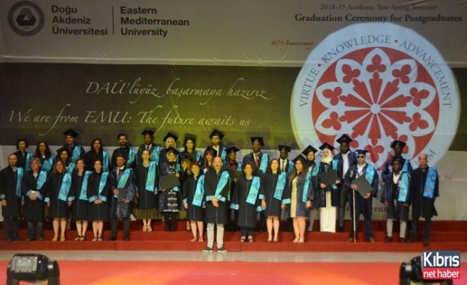 DAÜ Doktora Ve Yüksek Lisans Öğrencileri Diplomalarını Aldı