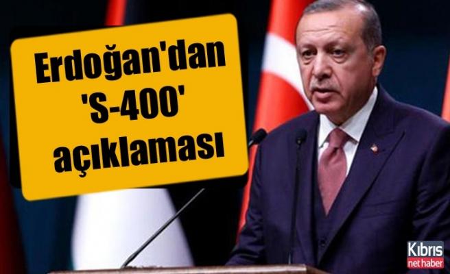 Erdoğan: 'KKTC'li soydaşlarımızla süreci kararlılıkla devam ettiriyoruz'