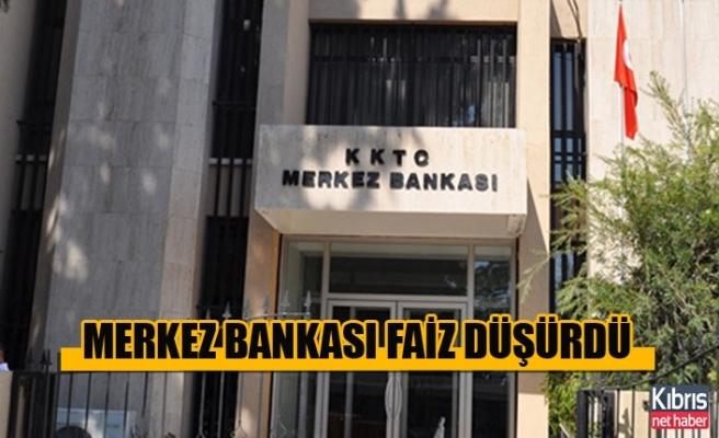 Merkez Bankası Faiz Düşürdü