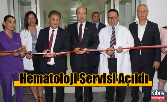 Onkoloji Hastanesi'nde Hematoloji Servisi Açıldı