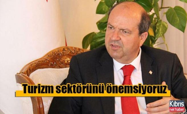 Tatar: Hükümet olarak turizm sektörünü önemsiyoruz