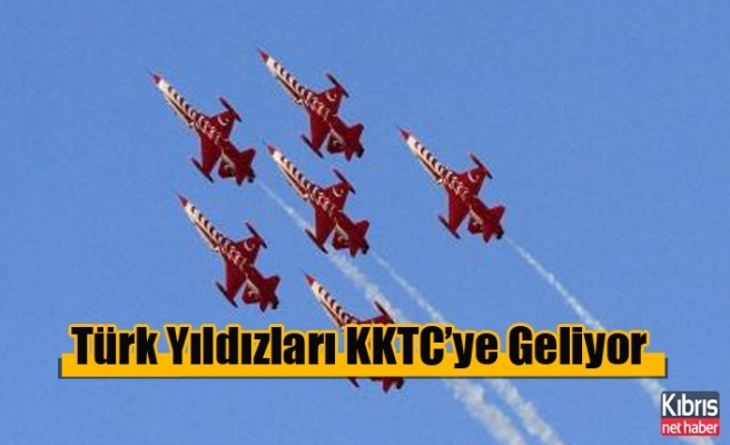 Türk Yıldızları KKTC'ye Geliyor