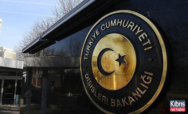 Türkiye'den, BM Güvenlik Konseyi'nin 'Kıbrıs' kararına tepki