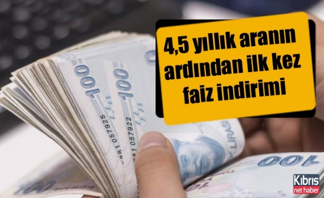Türkiye Merkez Bankası'ndan faiz indirimi