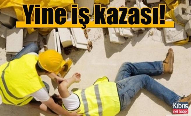 Girne'de iş kazası! 1 kişi hayatını kaybetti