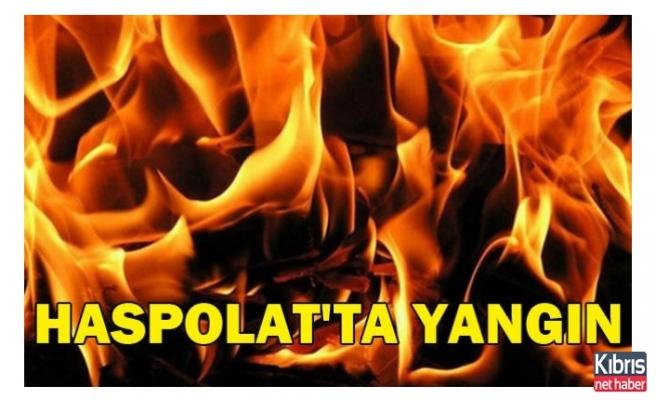 Haspolat Sanayi Bölgesinde yangın!