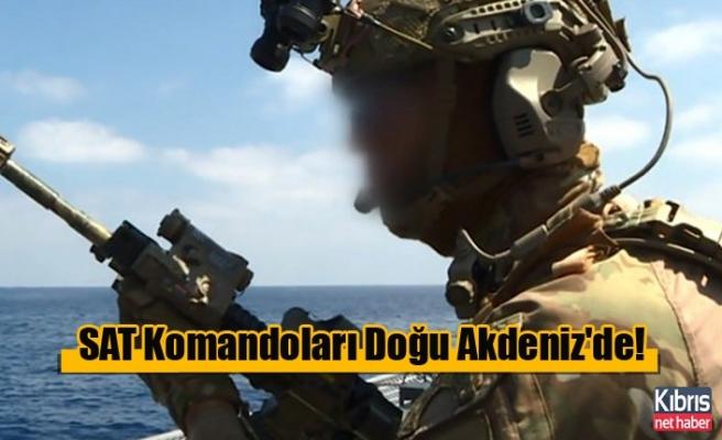 SAT Komandoları Doğu Akdeniz'de!