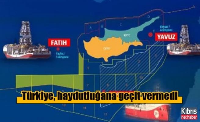 Türkiye, Rumların haydutluğana geçit vermedi