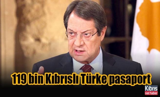 119 bin Kıbrıslı Türke pasaport