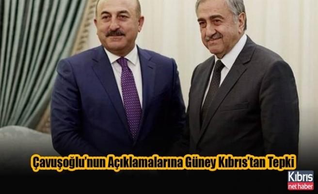 Çavuşoğlu'nun Açıklamalarına Güney Kıbrıs'tan Tepki