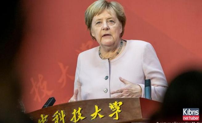 Merkel: ABD-Çin arasındaki çekişmeyi değerlendi