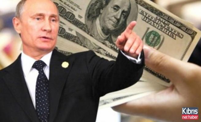Ve Rusya'dan 'dolar' hamlesi!