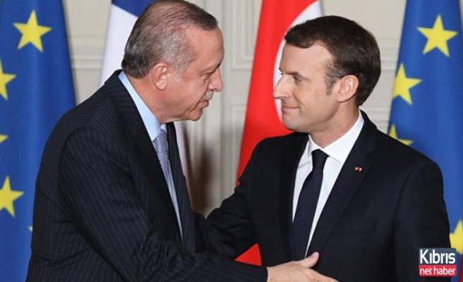 Erdoğan'dan Macron'a KKTC cevabı