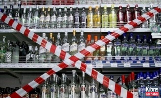 Alkol yasağı başlıyor