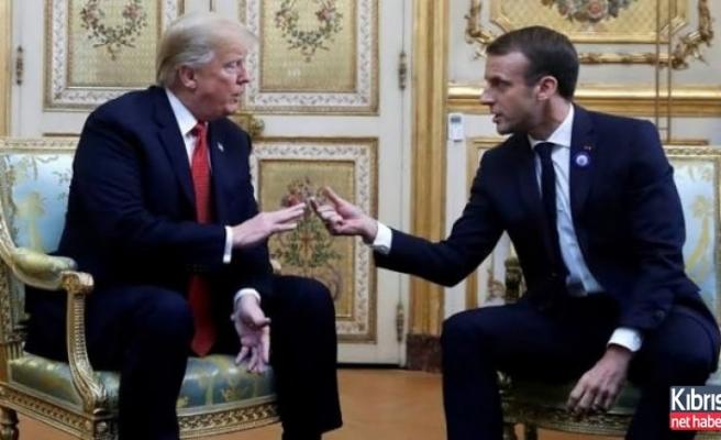 Macron'a, Trump'tan ayar