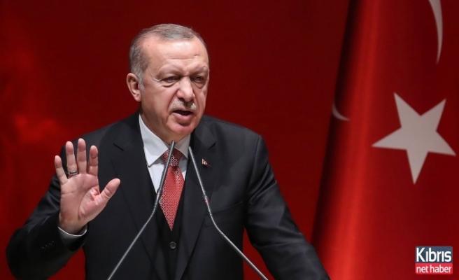 Erdoğan: KKTC'yi denklemden dışlayanlara izin vermedik