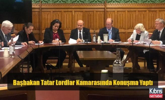 Başbakan Tatar Lordlar Kamarasında Konuşma Yaptı