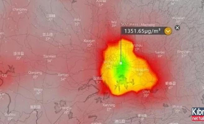 Çin şehri Wuhan'ın üzerine ceset bulutu çöktü
