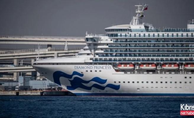 Karantina gemisinde 40 kişide daha koronavirüs tespit edildi