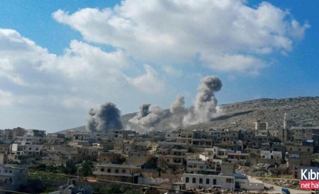 Rus savaş uçakları Halep kırsalında iki hastaneyi vurdu